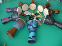 Zahájení kurzu afro bubnování ve Zlíně jaro 2017