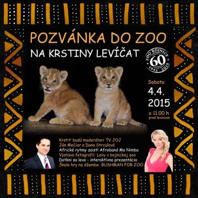 Křest lvíčat Zoo Bojnice, Slovensko