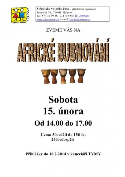 Workshop afrického bubnování v Holešově