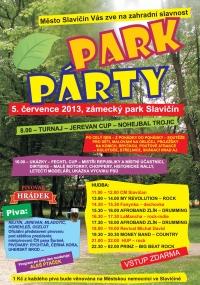 Park párty Slavičín 5.7.2013