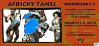 Workshop afrického tance ve Zlíně,Malenovicích