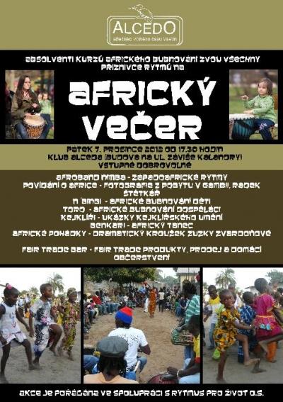 Africký večer na Vsetíně 7.12.2012