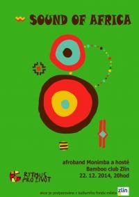Tradiční vánoční svátek afro music v Bamboo club Zlín 22.12.2014