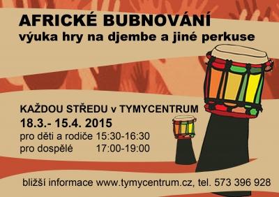 Africké bubnování v Holešově