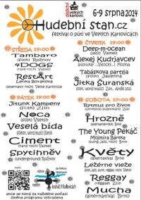 Hudební stan Velké Karlovice bubnuje s námi!