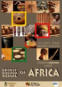 Svátek afro music v Bamboo club Zlín 14.12.2013